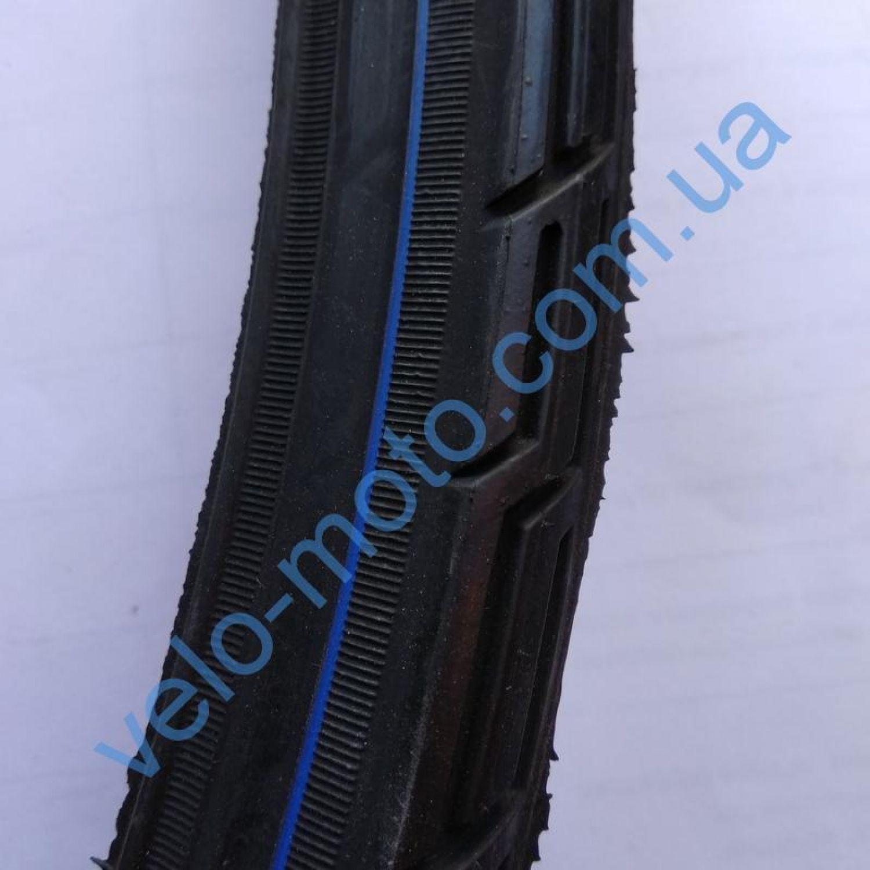 Велопокрышка 28″ Deli Tire S-192 blk/blue strip