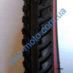 Велопокрышка 28″ Deli Tire S-161 Red strip